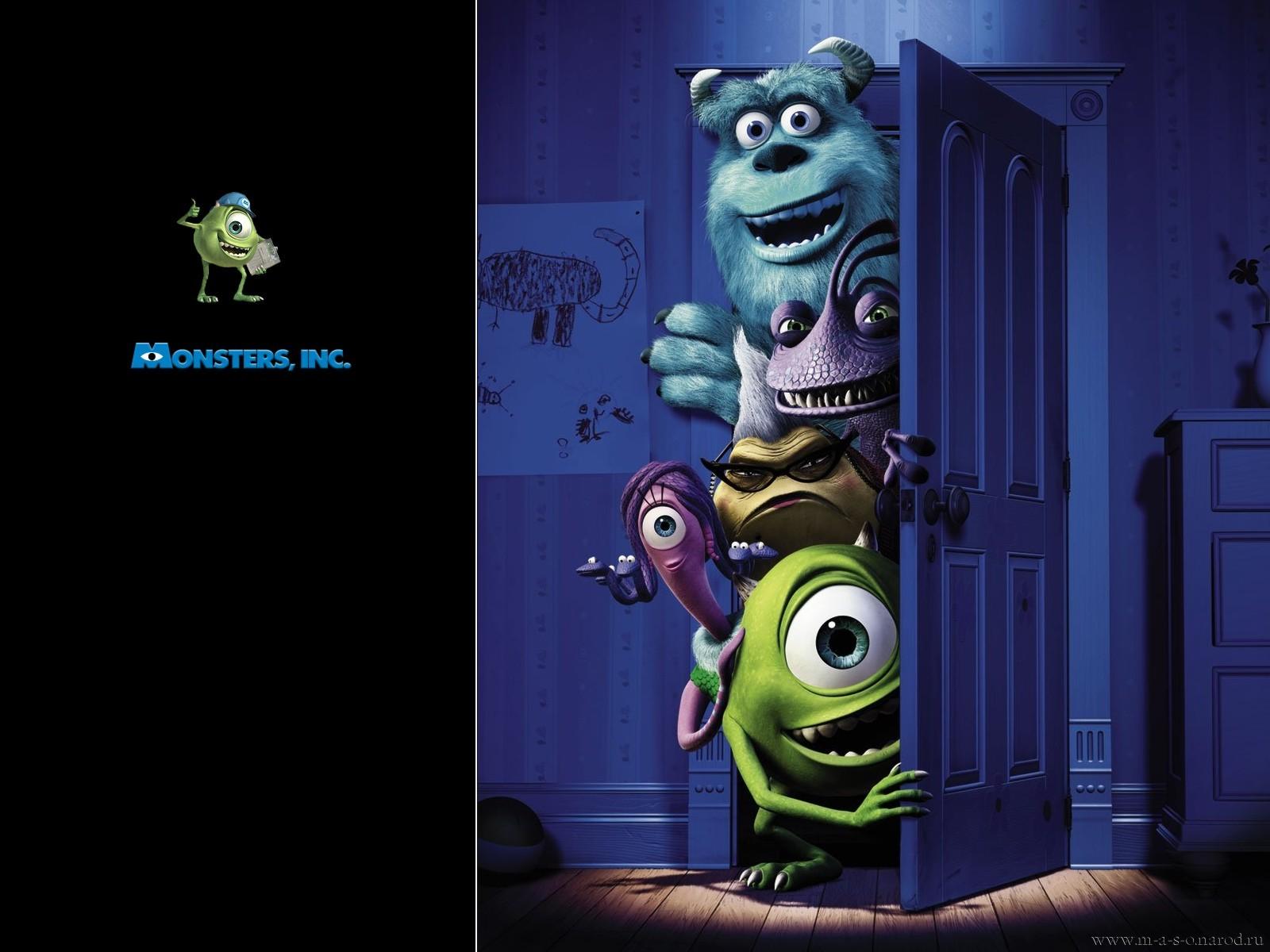 мультфильмы онлайн смотреть бесплатно корпорация монстров: